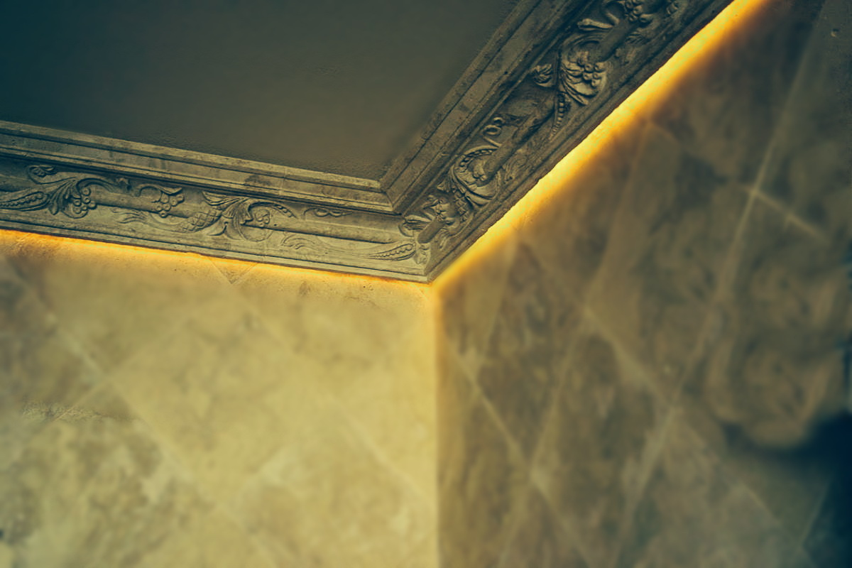 подсветка потолка своими руками